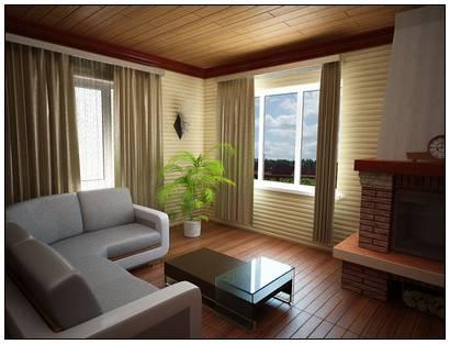 Дизайн комнаты в 19 м